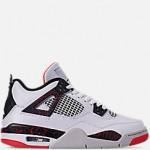 Big Kids Air Jordan Retro 4 Basketball Shoes