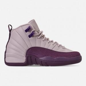Girls Big Kids Air Jordan Retro 12 Basketball Shoes