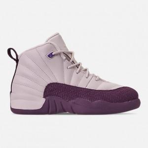 Girls Little Kids Air Jordan Retro 12 Basketball Shoes