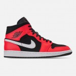 Mens Air Jordan 1 Mid Retro Basketball Shoes