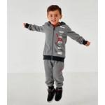 Kids Infant and Toddler Jordan Full-Zip Hoodie and Pants Set