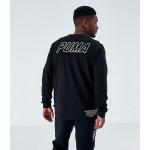 Mens Puma Luxe Long-Sleeve T-Shirt