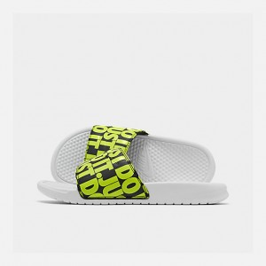 Mens Nike Benassi JDI Print Slide Sandals