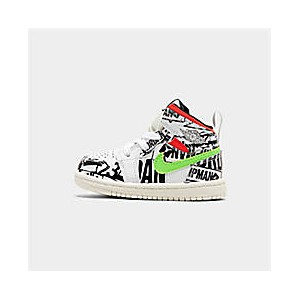 Kids Toddler Air Jordan 1 Mid Retro Basketball Shoes