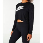 Womens Nike Sportswear Essential Crop Long Sleeve Top