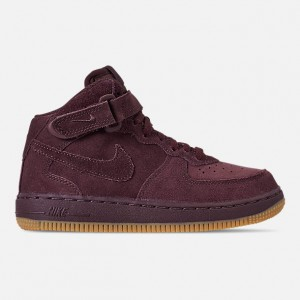 Boys Little Kids Nike Air Force 1 Mid LV8 Casual Shoes