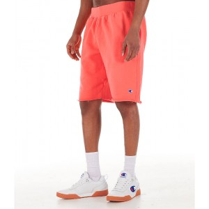 Mens Champion Reverse Weave Cut-Off Shorts