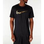 Mens Nike Dry Camo Swoosh T-Shirt