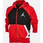 Boys Jordan Diamond Fleece Full-Zip Hoodie
