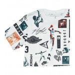 Boys Jordan Logo Mesh T-Shirt