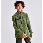 Boys adidas Microfleece Half-Zip Sweatshirt