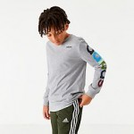 Boys adidas Originals Arm Hit Long-Sleeve T-Shirt