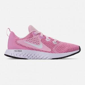 Girls Big Kids Nike Legend React Running Shoes
