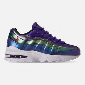 Girls Big Kids Nike Air Max 95 SE Casual Shoes