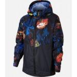 Kids Nike Sportswear Floral Windrunner Full-Zip Jacket