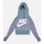 Girls Nike Sportswear Cropped Fleece Hoodie