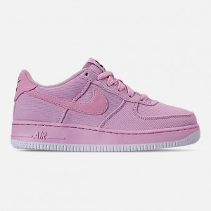 Girls Big Kids Nike Air Force 1 07 LV8 Style Casual Shoes