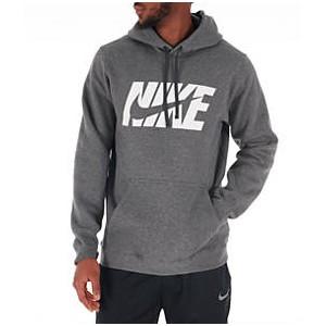 Mens Nike Sportswear Fleece Logo Hoodie