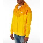Mens Nike Sportswear Colorblock Windrunner Hooded Jacket