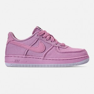 Girls Little Kids Nike Air Force 1 07 LV8 Style Casual Shoes