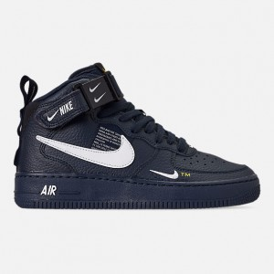 Boys Big Kids Nike Air Force 1 Mid LV8 Leather Casual Shoes