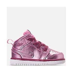 Girls Toddler Air Jordan 1 Mid Casual Shoes