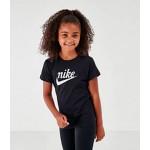 Girls Nike Sportswear Script Swoosh T-Shirt