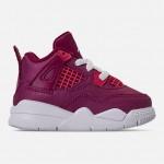 Girls Toddler Air Jordan Retro 4 Basketball Shoes