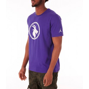 Mens Jordan Sportswear GOAT Logo T-Shirt