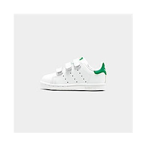 Kids Toddler adidas Originals Stan Smith Hook-and-Loop Casual Shoes