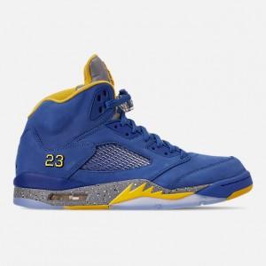 Mens Air Jordan Retro 5 Laney JSP Basketball Shoes