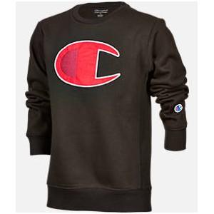 Kids Champion Big C Crew Sweatshirt