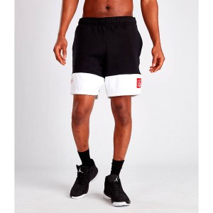 Mens Jordan Legacy AJ4 Fleece Shorts