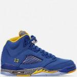 Big Kids Air Jordan Retro 5 Laney JSP Basketball Shoes