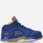 Toddler Air Jordan Retro 5 Laney JSP Basketball Shoes