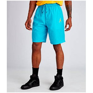 Mens Air Jordan Jumpman Cement Poolside Training Shorts