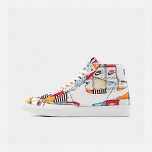 Mens Nike Blazer Mid Patchwork Casual Shoes