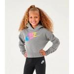 Girls Nike Sportswear Cropped Hoodie