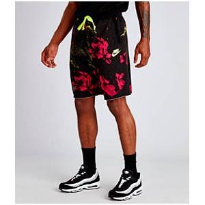 Mens Nike Sportswear Gel Limeade Shorts