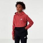 Boys Nike Club Half-Zip Hoodie