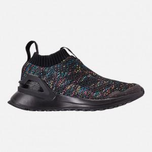 Little Kids adidas RapidaRun Laceless Knit Running Shoes