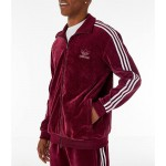 Mens adidas Originals Challenger Velour Track Jacket