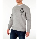 Mens adidas Athletics International Fleece Crewneck Sweatshirt