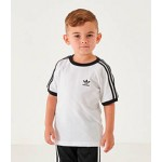 Kids Infant and Toddler adidas Originals 3-Stripes T-Shirt