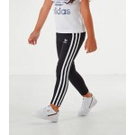 Girls Toddler and Little Kids adidas Originals 3-Stripes Leggings