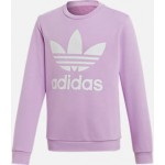 Girls adidas Originals Trefoil Crew Sweatshirt