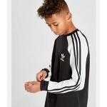 Kids adidas Originals 3-Stripe Long Sleeve T-Shirt