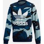 Boys adidas Camo Trefoil Crewneck Sweatshirt
