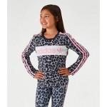 Girls adidas Originals Cheetah Long-Sleeve T-Shirt