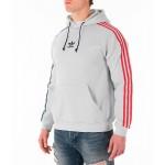 Mens adidas Originals 3-Stripe Hoodie